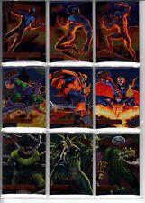2017 Fleer Ultra Spider-Man Legacy SILVER FOIL ePack Achievement L1-L12 Card Set