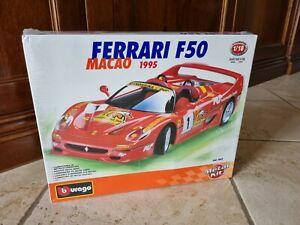 Bburago Ferrari 1/18 F50 Macao Kit
