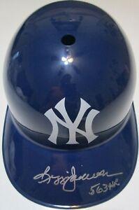 Reggie Jackson 563 HR Autograph New York Yankees F/S Replica Batting Helmet JSA