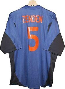 #5 ZENDEN 2000 NETHERLAND Football Shirt Jersey NIKE size XXL Tricot HOLLAND