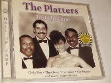 CD The Platters: TWILIGHT TIME (1998 BCI Music) Pop Doo Wop R&B