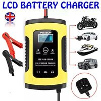Protable Smart Automatic 12V Car Battery Charger Pulse Repair Trickle Motorcycle