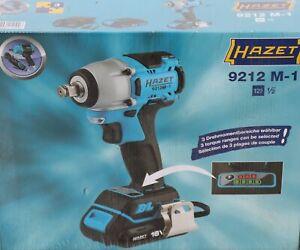 Hazet Mini Akku-Schlagschrauber Satz 9212M-1, 18Volt, blau