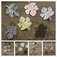 5x/Pack Vintage Simple Head Jewelry Hairpin Leaf Clip For Hair Tiara Accessories