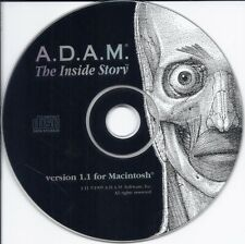 Adam The Inside Story Mac ver 1.1 Cd (human body anatomy organ muscle tissue)