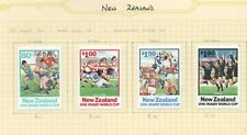 #NEW# New Zealand 1991 Rugby World Cup issues - Mint  hinged