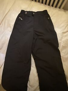 Bogner Black Ski Snow Woman's Snow Board Insulated Pants Sz. 6 Long Wintersports