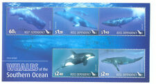 Ross Dependency-Whales min sheet fine used