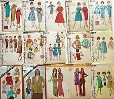 Vintage Variety Sewing Patterns 50s-70s U-Pick! Misses Sizes Simplicity (L4)