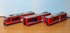 Kato 74035, Spur N, RhB Triebwagen Allegra ABe 8/12, 3tlg.,, Kato 10-1273
