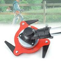 3 Tooth Grass Trimmer Brush Cutter Head Garden Lawn Mower Blade Manganese Steel
