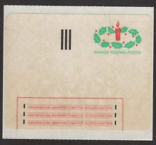 CANADA   -- CHRISTMAS POSTAGE -- EXPERIMENTAL -- 1983 --  MINT