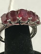 Dyed Ruby Ring Size 9