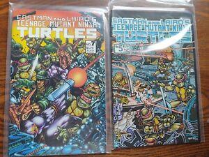 8 Teenage Mutant Ninja Turtles Comics 5,7,8 nm