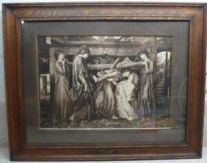 Dante's Dream, after Gabriel Rossetti ( Print)