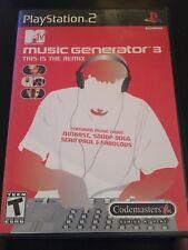 Music Generator 3 Ps2