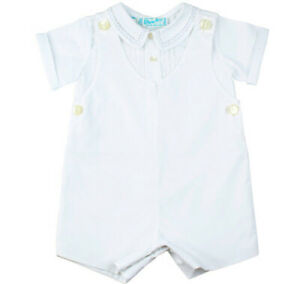 Boys Classic White Highrise Suit with Shirt NWT 3m-24m, Feltman Brothers