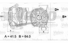 VALEO Alternador FIAT PUNTO PANDA IDEA FIORINO SUZUKI SWIFT ALFA ROMEO 437474