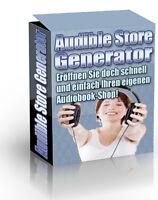 Audible Store Generator -Ganz einfach Ihren eigenen Audio-Buchshop eröffnen -PLR