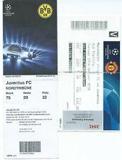 Biglietti stadio tickets calcio football Juventus in Champions League