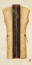 Thiry: Yellow Kimono I Japan Zen Fertig-Bild 50x100 Wandbild