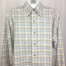 Men's Brooks Brothers Country Club Small Tartan Button Down Long Sleeve Shirt