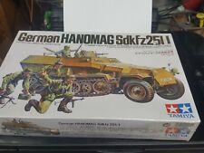 Tamiya  German Hanomag  plastic model kit 1/35 scale