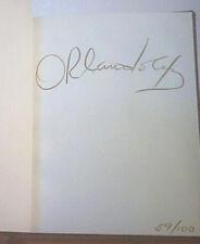 A PHOTOGRAPHIC ESSAY Orlando Bertolo AB  1986 Hand SIGNED LMT ED  59/100 HC  NEW
