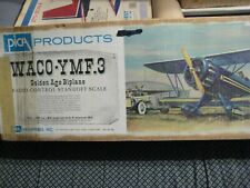 "Vintage PICA WACO YMF.3 , Scale RC Balsa Model Biplane Kit, 60"""