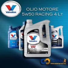 4 LT Olio Motore VALVOLINE VR1 RACING OIL 5W50
