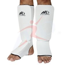 """Ard Champsâ""""¢ Shin Instep Protectors, Guards Pads Boxing, Mma Muay Thai White"""