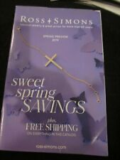 ROSS SIMONS JEWELRY CATALOG SPRING PREVIEW 2019 SWEET SPRING SAVINGS BRAND NEW