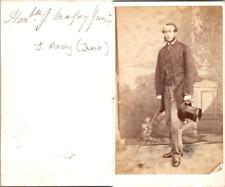 The honorable J. Massy Junior Vintage CDV albumen carte de visite CDV, tirage
