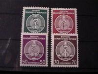 DDR Dienst Nr.: 23, 24, 26 und 27 postfrisch