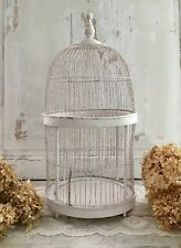 Antique French Wire Bird Cage