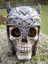 Puckator Sk220 Crâne de Décoration portant Casque Viking Résine...