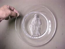 Moses by Michelangelo numbered art glass plate by Danbury Mint