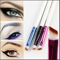 2x Elite abgewinkelt Augenbrauenpinsel Nice Eye Liner Stirn Makeup Tool ^