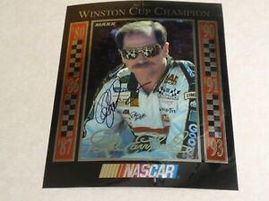Dale Earnhardt Sr.  ~ Signed / Autographed ~ Six Time Winston Cup Champion