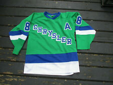 VINTAGE CHRYSLER Hockey Jersey XL