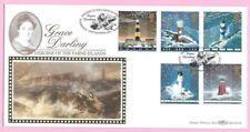 1998 BENHAM BLCS141b  FDC - EDDYSTONE LIGHTHOUSE - Shs GRACE DARLING, BAMBURGH
