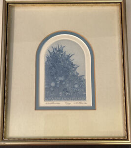 Framed Art Print  - Wildflowers J.E. Fisher 81/150 - Frame Size 8X10