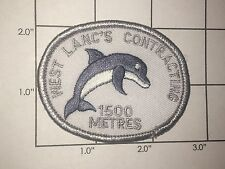 West Lanc's Contracting 1500 Metres Patch - dolphin