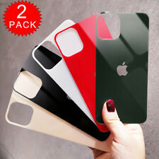 2 Pack Premium Tempered Glass Back Rear Screen Protector for iPhone 11 Pro Max
