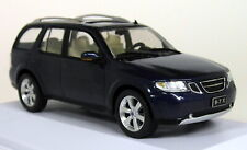 Atlas 1/43 Scale - 028 Saab 9-7x Aero 2005 SUV Blue Diecast model Car