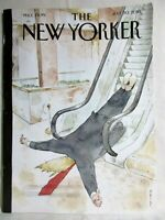 The New Yorker July 30 2018 Cover THUMBS-UP by Barry Blitt