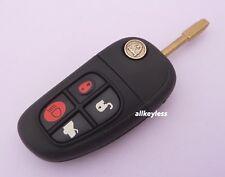 Original JAGUAR keyless entry remote fob transmitter XJ8 S, X Type +UNCUT KEY