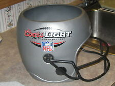 "Coors Light Plastic NFL Helmet Beer Bucket - 8.5"" Tall"