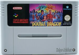 Super Nintendo SNES - Super Double Dragon - Pal EUR / Reproduction