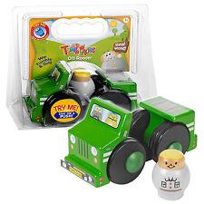Tumblekins Off-Roader Giocattolo in legno con auto Adventure figura BABY KIDS regalo di Natale